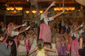 "Every little girl can be a princess at ""Princess Fantasy Day"" at the Bavarian Inn Restaurant."